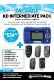 KD Intermediate Package (Including KD Remotes and KD Device)