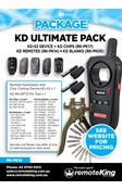 KD Ultimate Package (Includes KD-X2 Device, KD Chips, KD Blades and KD Remotes)