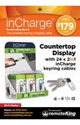 inCharge Display box with 24 Units (Dual Cable)