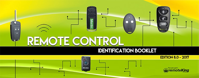 Remote Control Identification Booklet